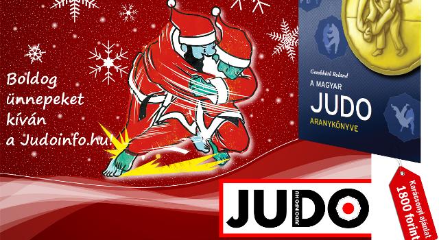 A Judoinfo karácsonyi ajánlata: Aranykönyvet a fa alá!
