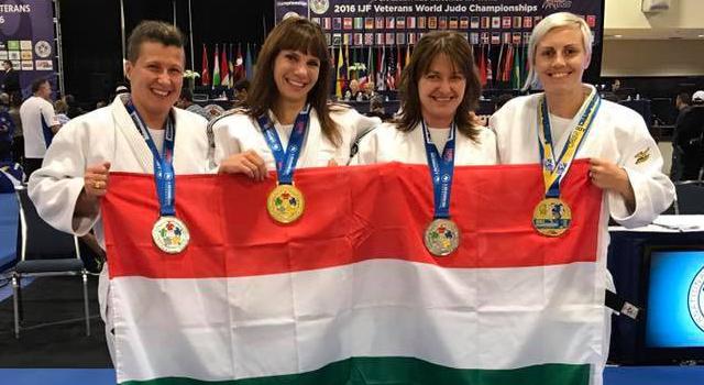 Nyolc magyar érem a veterán világbajnokságon!
