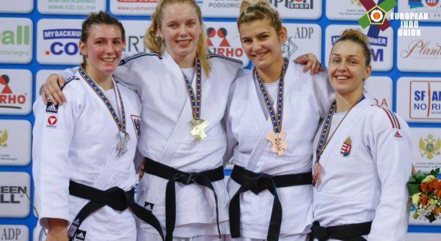 Gercsák Szabina bronzérmet szerzett az U23-as Eb-n