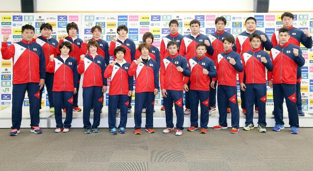 Itt a japán csapat a budapesti világbajnokságra!