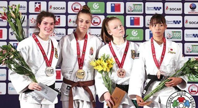 Ifjúsági világbajnokság: Varga Brigitta világbajnok lett!