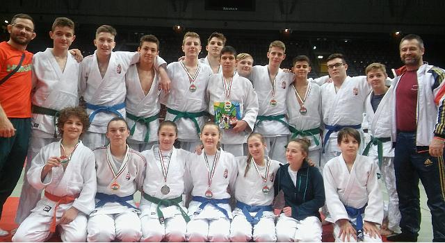 Ifjúsági judósok csúcstalálkozója Veszprémben
